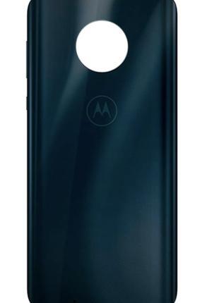 Задняя крышка Motorola XT1925 Moto G6, синяя, Deep Indigo, ори...