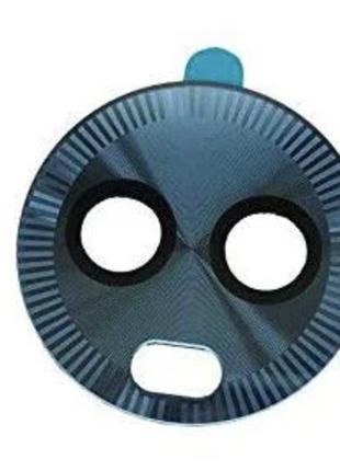 Стекло камеры Motorola XT1926 Moto G6 Plus, синее, Deep Indigo