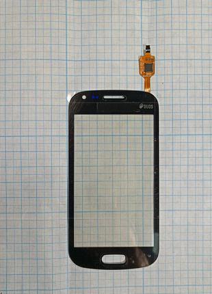 Сенсор (тачскрін) Samsung S7562 Galaxy S Duos чорний