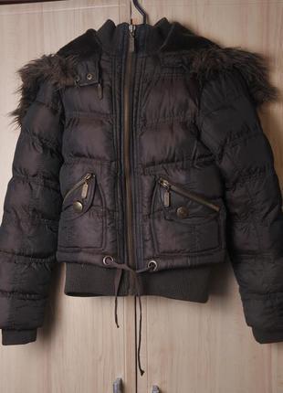 Очень теплая короткая курточка blind  date акция 1+1= 3