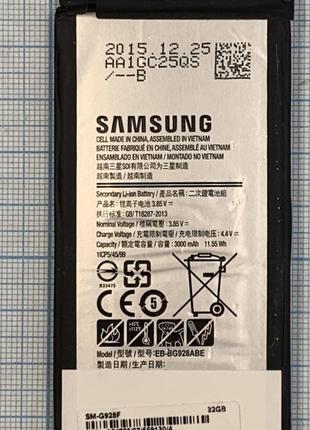 Акумулятор Samsung G928F Galagy S6 Edge Plus Original б/в