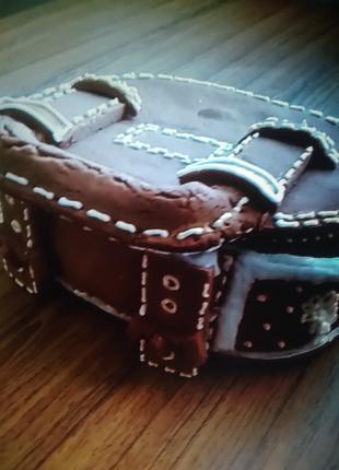 Кожаная сумочка