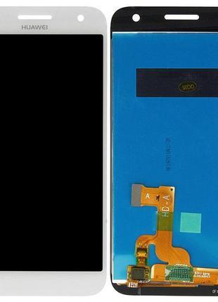 Дисплей Huawei G7 з сенсором (Білий) Original PRC