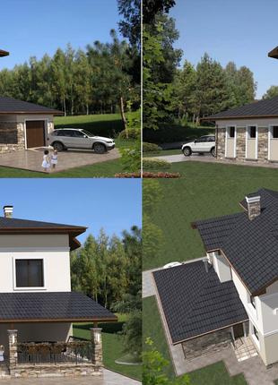 Спроектируем и построим дом вместе!