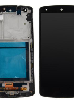Дисплей LG D820/D821 Nexus 5, з сенсором в рамці / Original