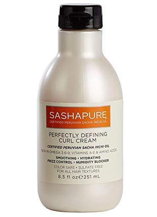Крем SashaPure Perfectly Defining Curl Cream, 251мл