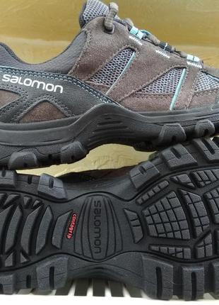 Кроссовки salomon cruise ii grey womens walking / hiking ориги...
