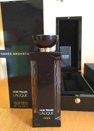 Lalique Terres Aromatiques 1905_Оригинал EDP_5 мл затест_парф.вод