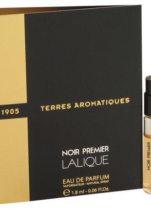 Lalique Terres Aromatiques 1905_Оригинал EDP_2 мл затест_Распив