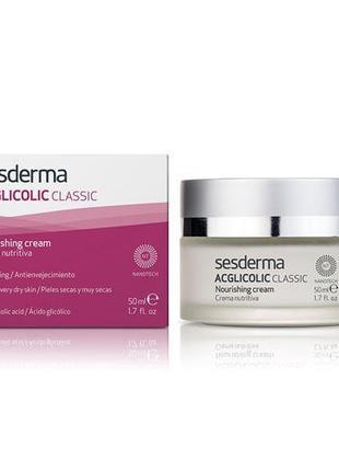 Ночной питательный крем - SesDerma Laboratories Acglicolic Cla...