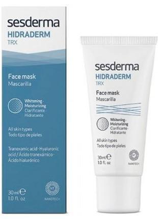 Разглаживающая маска - Sesderma Hidraderma TRX Face Mask (30ml...