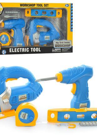 Детский набор инструментов 7926 шуруповерт-дрель
