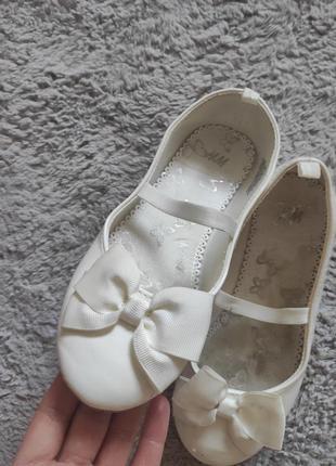 Туфли балетки. для девочки h&m