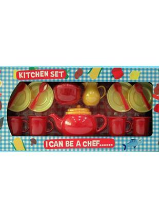 Игрушечная посуда LN753A4 чайный сервиз на 4персоны