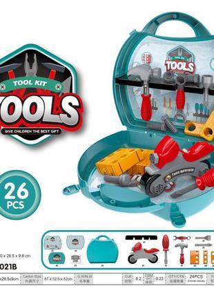 Детский набор инструментов 8021B молоток