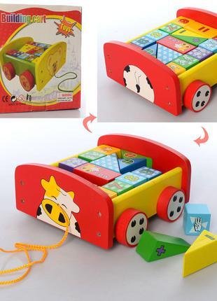 Деревяннаяянная игрушка Каталка MD 2521 17
