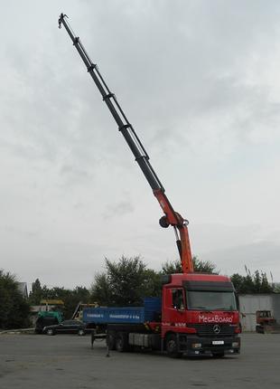 Услуги аренда крана манипулятора 12 тонн.