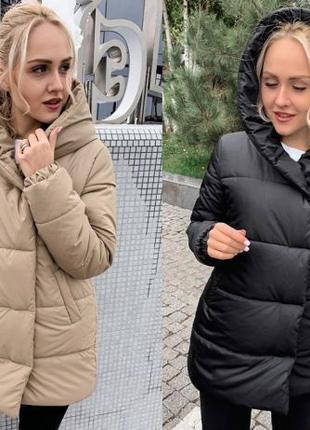 Куртка зимняя женская, куртка теплая на зиму, стильная куртка ...