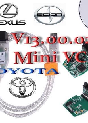 Авто Диагностика Mini VCI V13.00.022 J2534 ТИС Toyota Lexus ОБД
