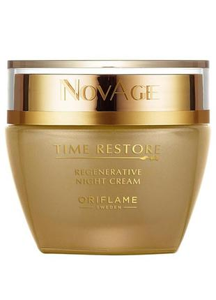 Омолаживающий ночной крем novage time restore 32628 орифлейм o...