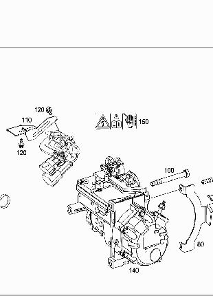 A0038300260 Компрессор кондиционера Смарт SMART 451ED