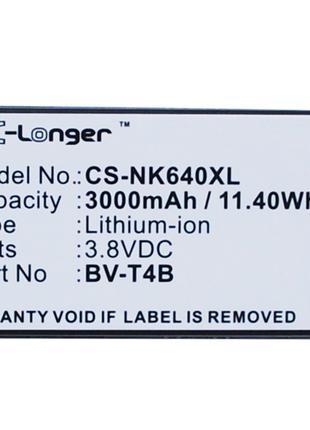 Аккумулятор для Nokia Lumia 640 XL 3000 mAh