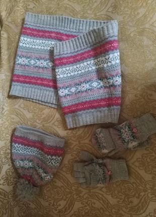 Шапка ,перчатки ,хомут