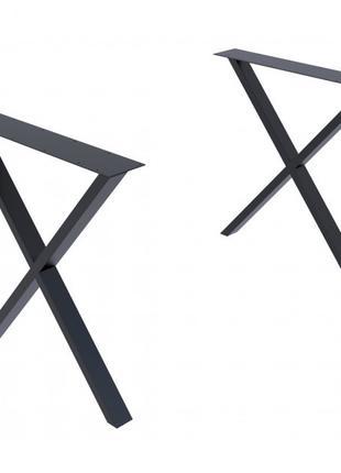 Опора для стола GoodsMetall в стиле Лофт 720х650мм Артхаус