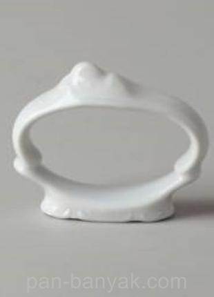 Кольцо для салфетки Thun Bernadotte (без декору) фарфор (0011000)