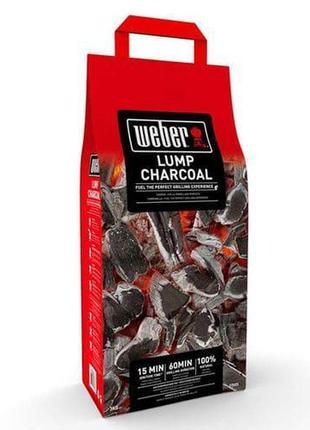 Древесный уголь 3 кг Weber (17671)