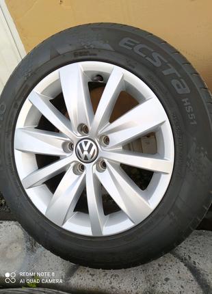 Диски литые Volkswagen Passat VW Jetta Golf Caddy Touran R16