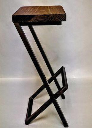 Барный стул GoodsMetall в стиле ЛОФТ 750х350х350 БС224