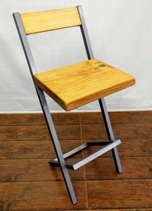 Барный стул GoodsMetall в стиле ЛОФТ БС215