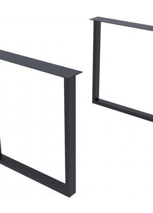Опора для стола GoodsMetall в стиле Лофт 720х650мм Гранж
