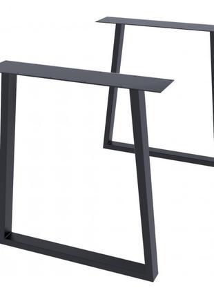 Опора для стола GoodsMetall в стиле Лофт 730х650мм Шанкар