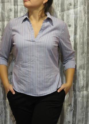 Рубашка блуза с длинным рукавом 12 размер большой выбор одежды...