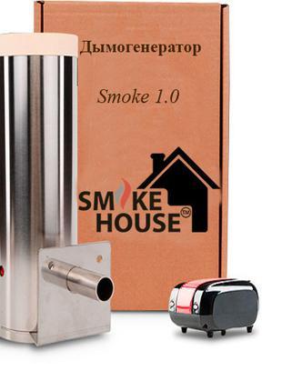Дымогенератор для холодного копчения с камерой для сгорания и ...