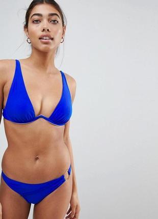 👑♥️final sale 2019 ♥️👑  синий верх купальника с глубоким вырез...