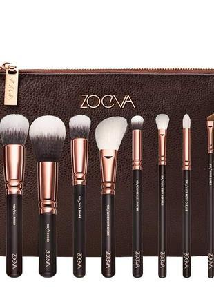 Кисти для макияжа zoeva rose golden luxury brush set - volume 1