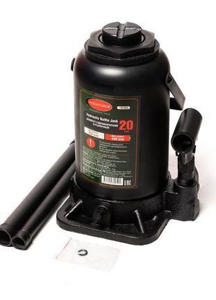 Домкрат бутылочный 20т с клапаном (высота подхвата - 235мм, вы...