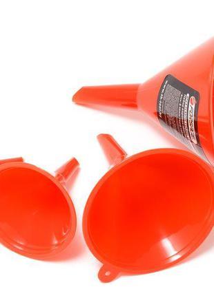 Набор воронок пластиковых, 4 предмета(Ø:45, 65, 90, 115мм,L:60...