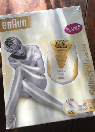 Эпилятор braun silk-epil eversoft