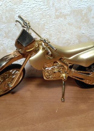 Зажигалка кроссовый мотоцикл, статуэтка мотоцикла, фигурка мотоци