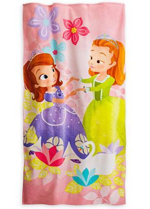 Пляжное полотенце принцесса софия от дисней америка