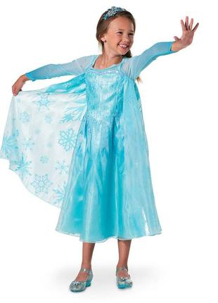 Карнавальное платье эльзы дисней америка 4года