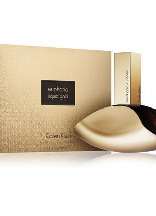 Женская туалетная вода Calvin Klein Euphoria Liquid Gold (Кель...
