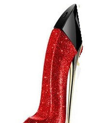 Тестер Carolina Herrera Good Girl красная туфелька (блестки) р...
