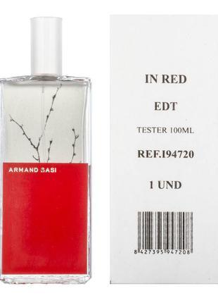 Тестер Armand Basi In Red (Арманд Баси ин ред) ОАЭ