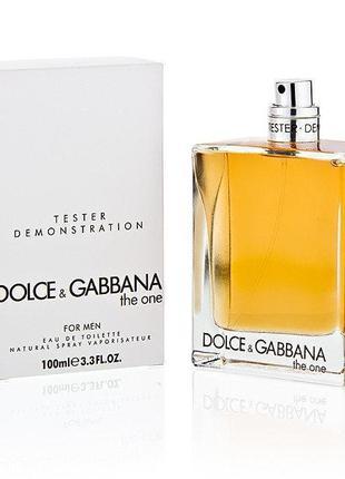 Тестер Dolce & Gabbana The One For Men (Дольче Габанна зе ван ...