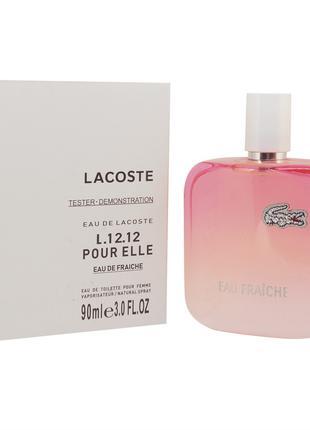 Тестер Lacoste Eau De Lacoste L.12.12 Pour Elle Eau Fraiche (Л...